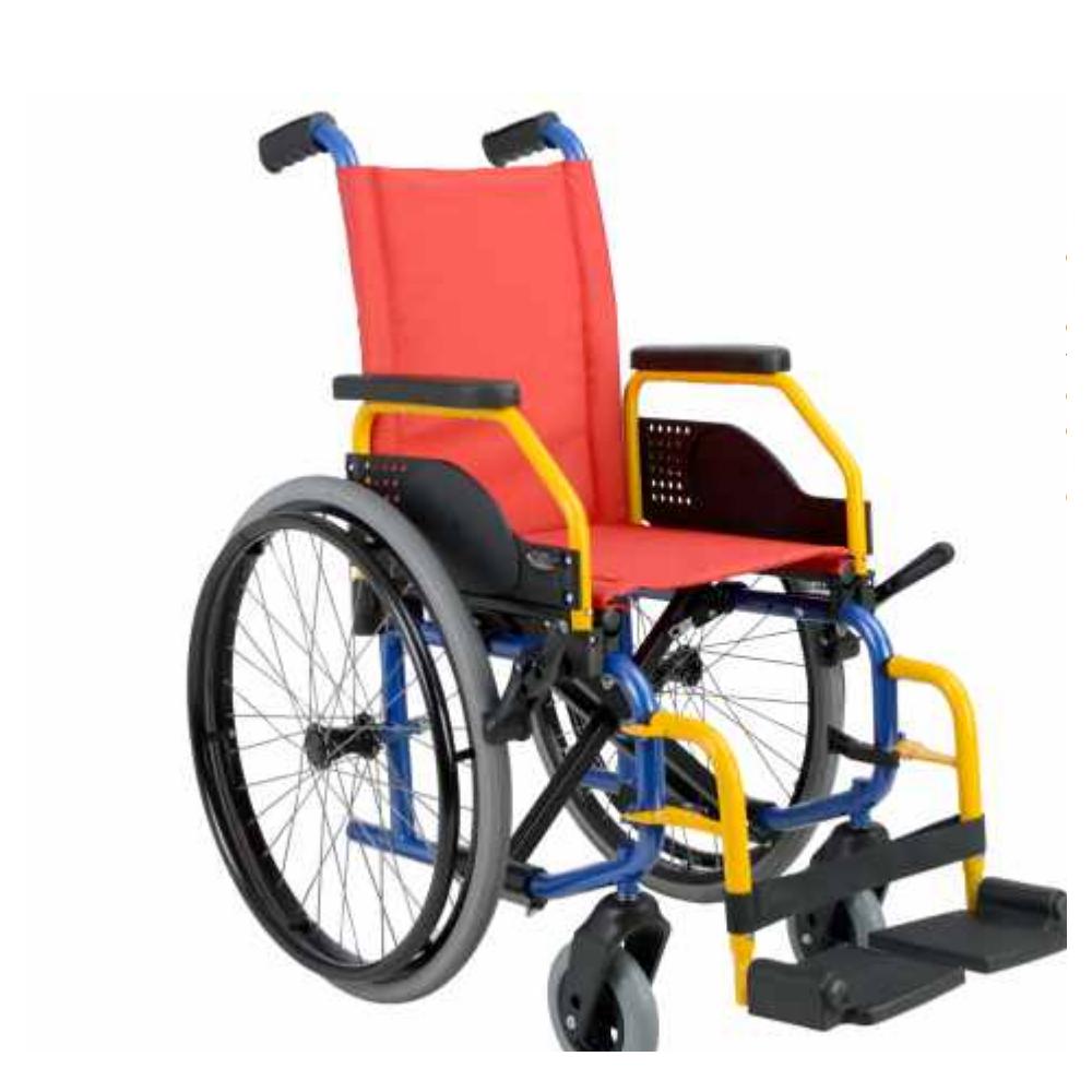 Aluguer Cadeira de Rodas Manual Pediátrica / Dia